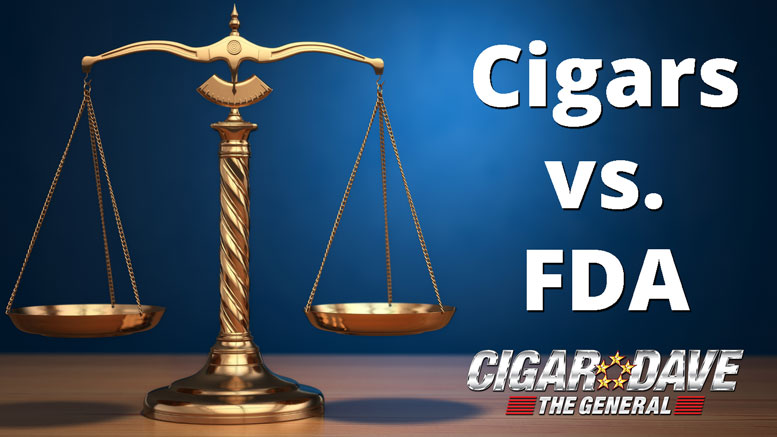 The Cigar Industry has filed suit vs the FDA over the deeming rule