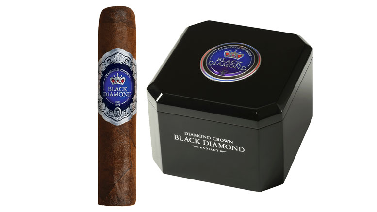 Diamond Crown Black Diamond Cigar and Box