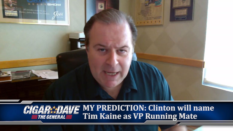 Hillary Clinton's VP Choice is My Prediction for July 21, 2016