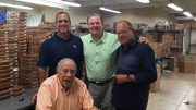 Cigar Dave with José Padrón, Jorge Padron and Oliver Padron at Padron Cigars