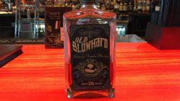 Old Blowhard Whiskey bottle