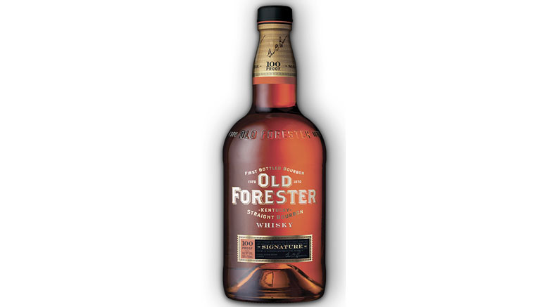 Old Forester Signature 100 Proof bottle