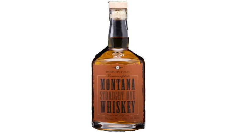 Roughstock Montana Straight Rye Whiskey bottle