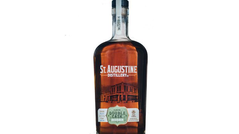 St. Augustine Distillery Florida Double Cask Bourbon bottle