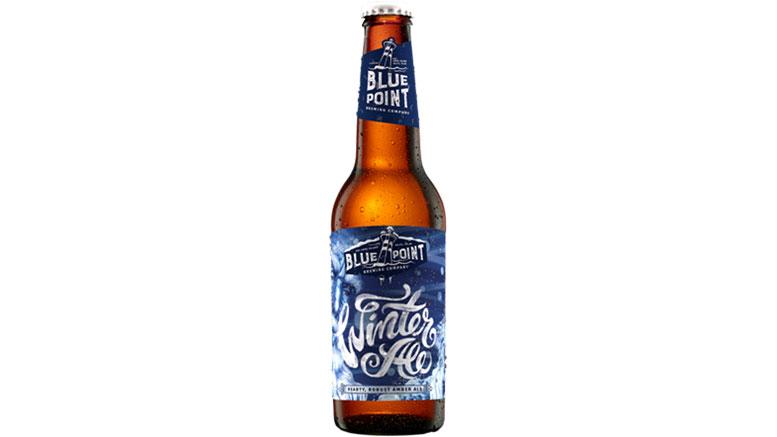 Blue Point Brewing Winter Ale Bottle