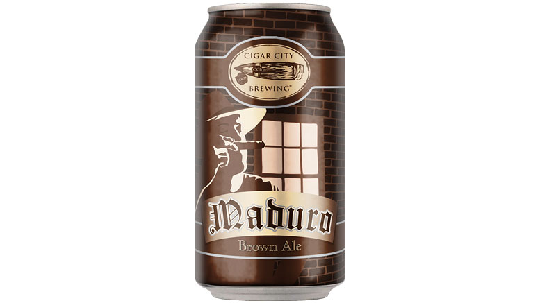 Cigar City Brewing Maduro Brown Ale Can