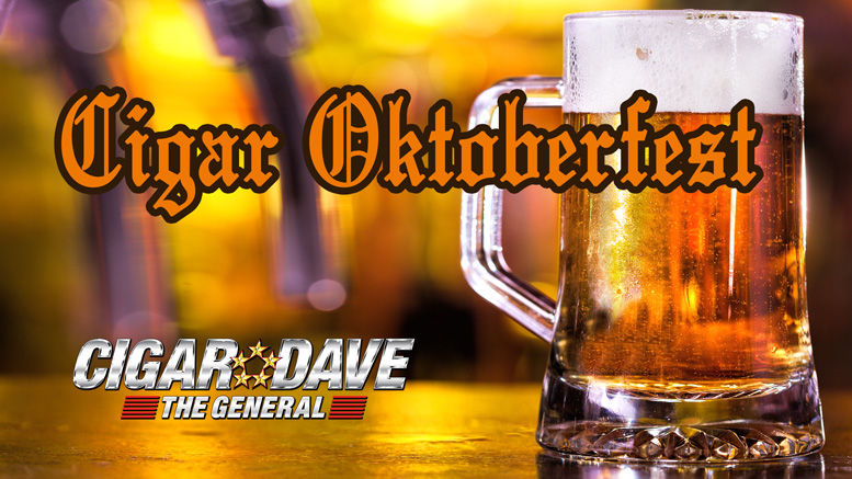 Celebrating Cigar Oktoberfest all month long