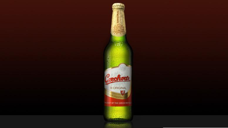 Czechvar bottle
