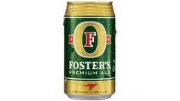 Foster's Premium Ale can