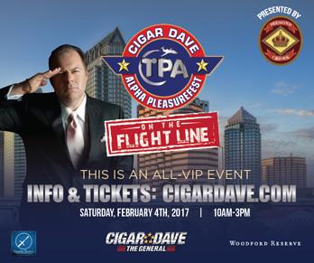 Cigar Dave's Alpha PleasureFest on the Flight Line