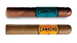 Camacho Ecuador and Camacho Connecticut cigars