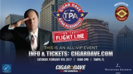 Cigar Dave Alpha PleasureFest on the Flight Line is Saturday, February 4th, 2017
