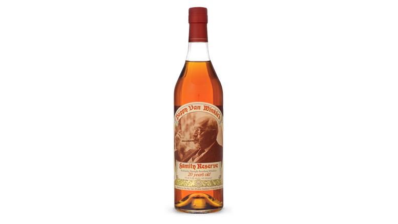 Pappy Van Winkle 20 Year bottle