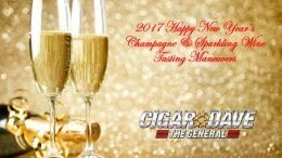 Cigar Dave's 2017 Champagne & Sparkling Wine Tasting Maneuvers