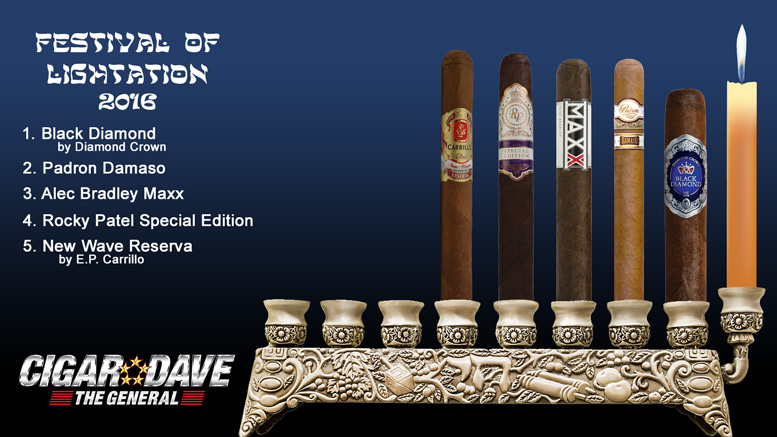 Cigar Dave's 2016 Festival of Lightation Night 5