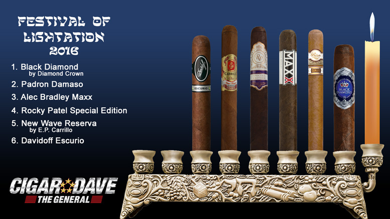 Cigar Dave's 2016 Festival of Lightation Night 6