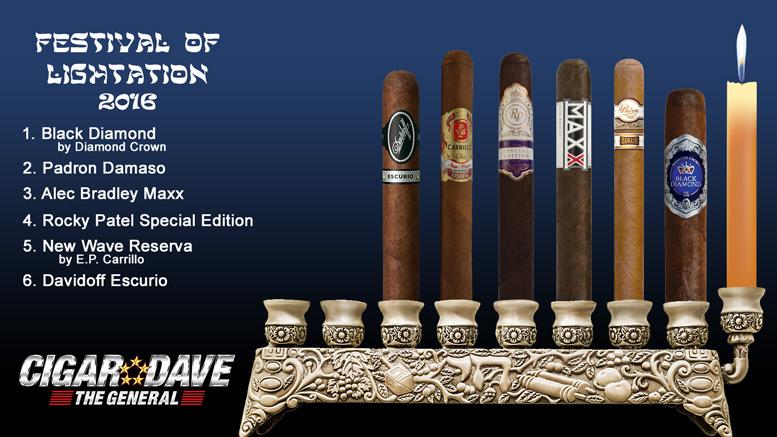 Cigar Dave's 2016 Festival of Lightation Night 6