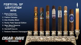 Cigar Dave's 2016 Festival of Lightation Night 7