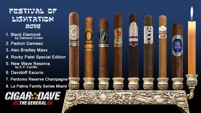 Cigar Dave's 2016 Festival of Lightation Night 8