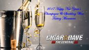 Cigar Dave conducts 2017 Happy New Year Champagne & Sparkling Wine Tasting Maneuvers
