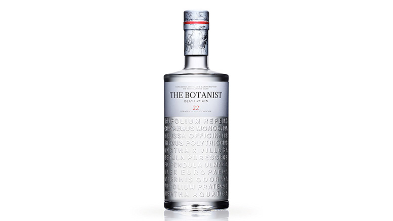 The Botanist Gin Bottle