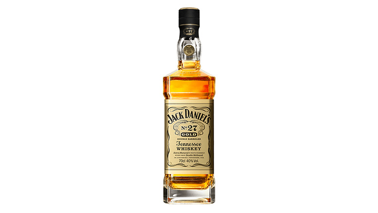 Jack Daniels No. 27 Gold Double Barreled Tennessee Whiskey