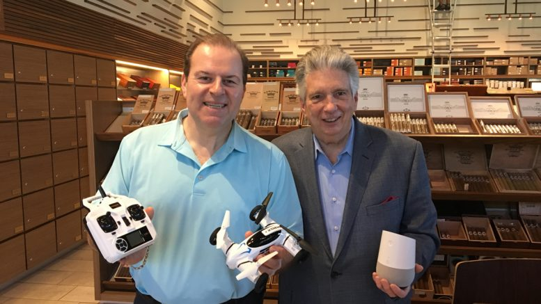 Cigar Dave with Jim Barry, the Digital Answerman from Consumer Technology Association