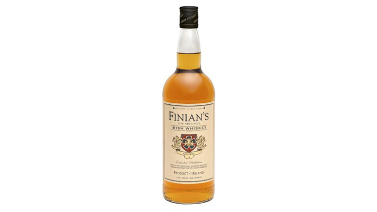 Finian's Irish Whiskey bottle