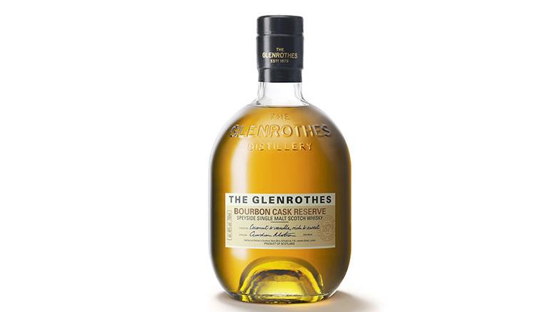 The Glenrothes' Bourbon Cask Reserve bottle