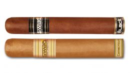 The March 2017 Cigar Dave Officers Club Selection is Boutique Blends Sampler including the Swag Black and Swag Brown Connecticut