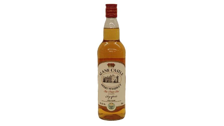 Slane Castle Irish Whiskey bottle
