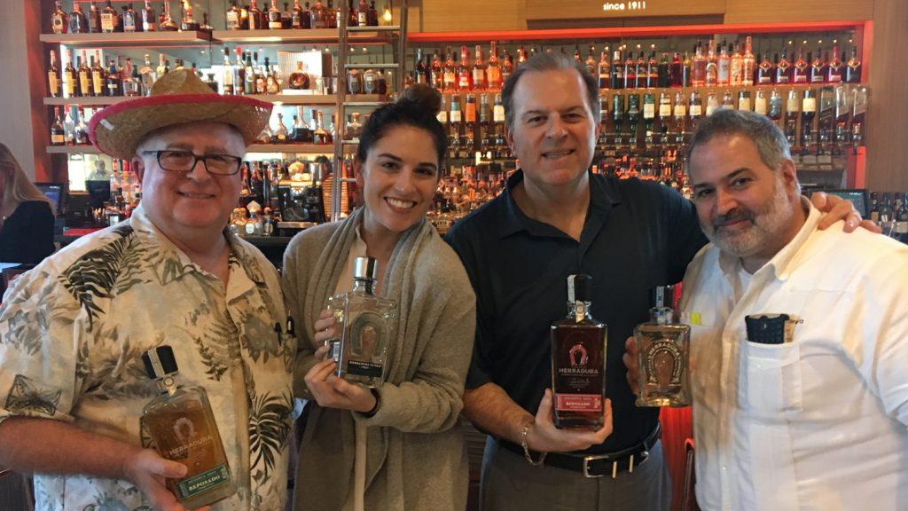 Cigar Dave's Tequila Tasting Maneuvers with Sommelier Dave, Tommy D, and Mixologist Carlie