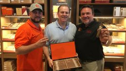 Cigar Dave with Jeff Borysiewicz and Scott Kolesaire