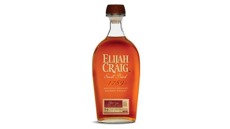 Elijah Craig Small Batch Kentucky Straight Bourbon bottle