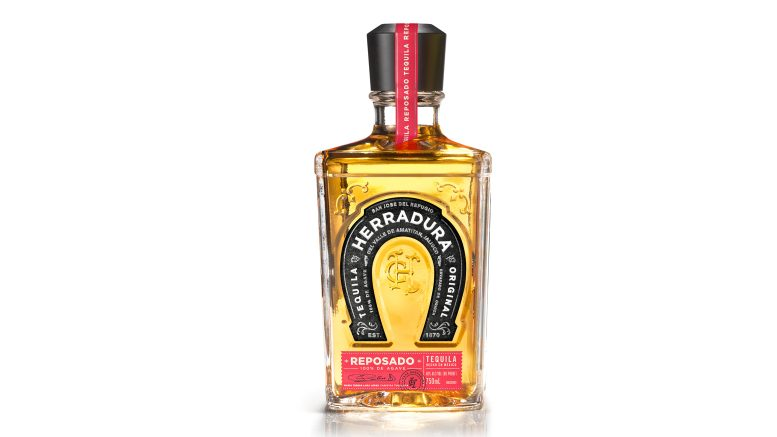 Herradura Reposado Tequila bottle