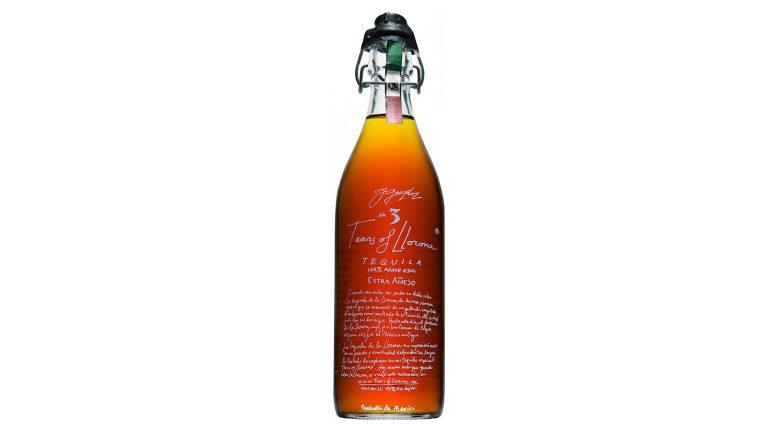 Tears of Llorona Tequila bottle