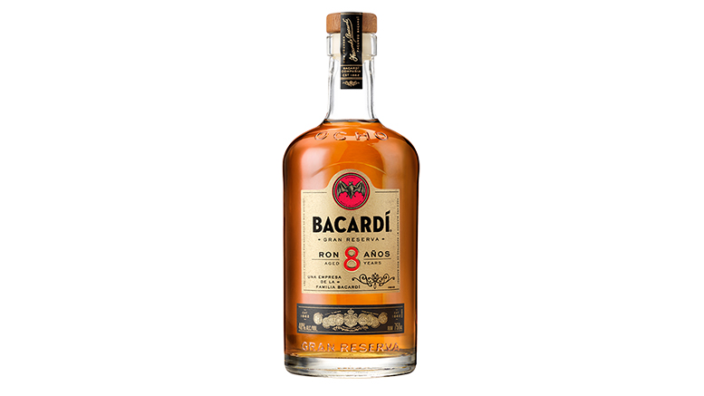 Bacardi Gran Reserva 8 Anos bottle