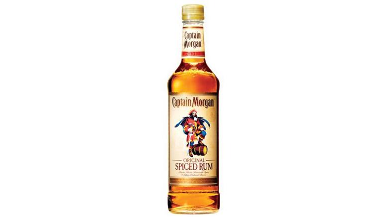 Captain Morgan Original Spiced Rum bottle