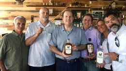 Cigar Dave and crew at Buffalo Distilling Company for a LIVE broadcast.
