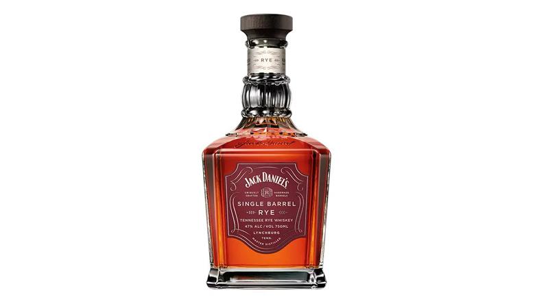 Jack Daniels Single Barrel Rye bottle