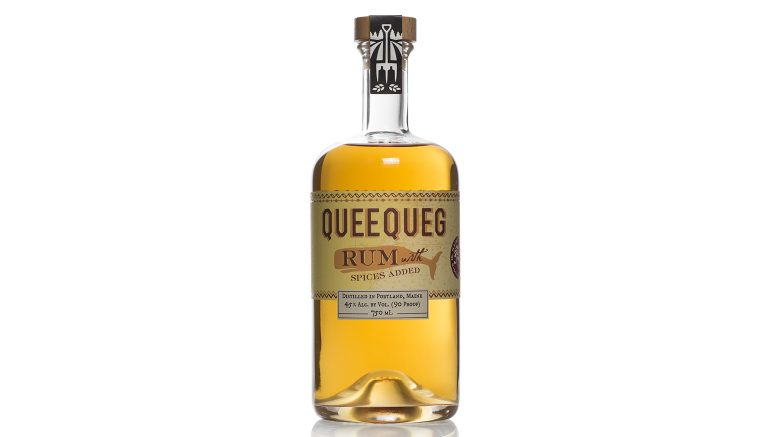 Queequeg Rum bottle from Maine Craft Distilling