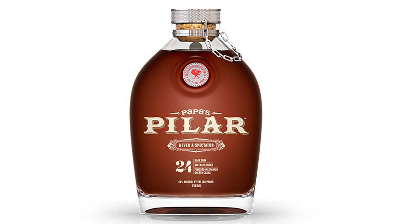 Papa's Pilar Dark bottle
