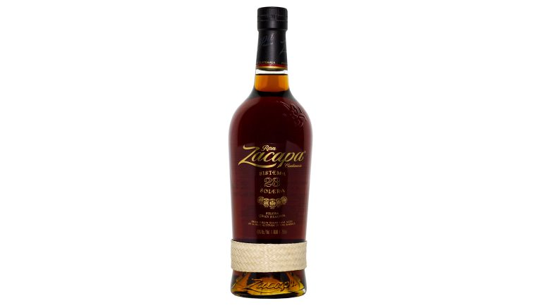 Ron Zacapa 23 Rum bottle