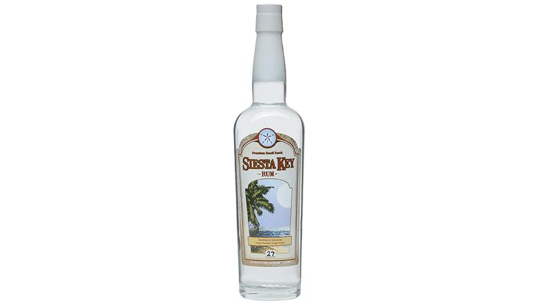 Siesta Key Silver Rum bottle