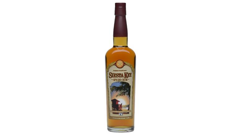 Siesta Key Spiced Rum bottle