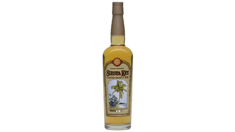 Siesta Key Toasted Coconut Rum bottle