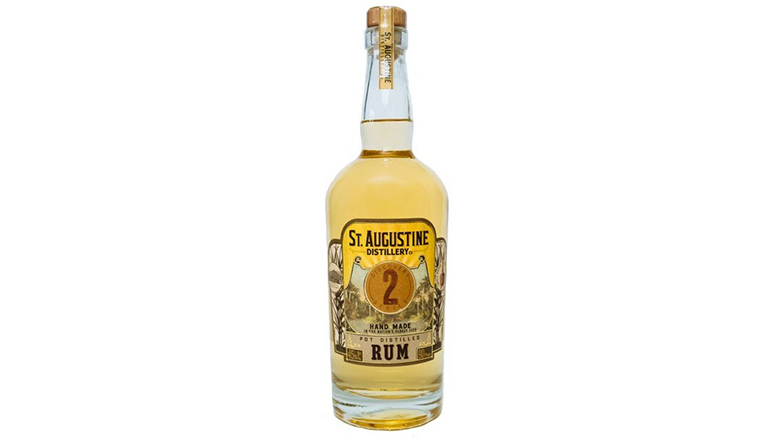 St. Augustine Pot Distilled Rum bottle