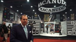 Cigar Dave at the Macanudo Booth at IPCPR 2017