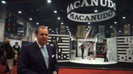 Cigar Dave at the Macanudo Booth at IPCPR 2017