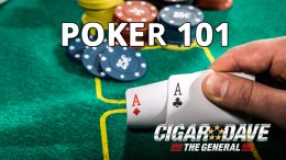 Cigar Dave and Victor Royer teach Poker 101